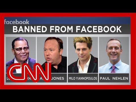 Facebook bans InfoWars and other 'dangerous' users