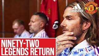 adidas Ninety-Two | Legends Return to Old Trafford