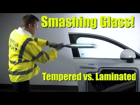 Smashing Glass! Comparing Laminated vs. Tempered