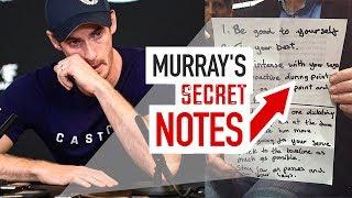 Andy Murray's Secret Match Notes (tennis mindset gold!)