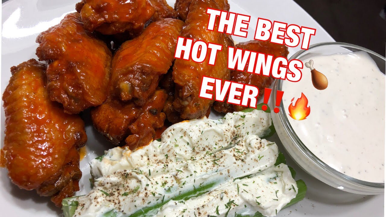 Cuttin Up With Bae: The Best Hot Wings Ever With Chef Bae