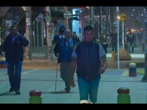 Paro de transportadores en Bogotá: a pie se movilizan decenas de afectados