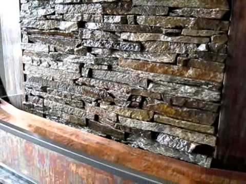 Indoor Water Wall Fountain Fully custom water wall built by earth inspired products youtube fully custom water wall built by earth inspired products workwithnaturefo