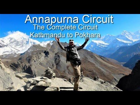 Annapurna Circuit - The Complete Trek from Kathmandu to Pokhara