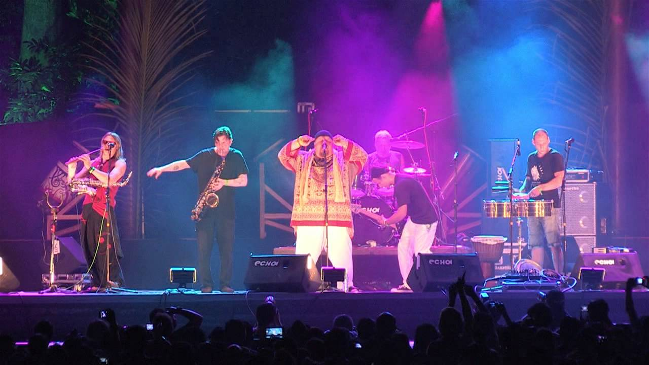 Rainforest world music festival 2012, Borneo, Faÿt live