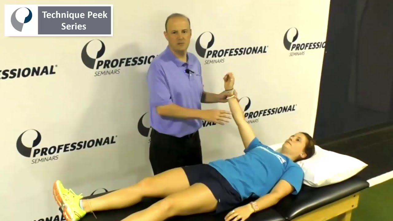 Technique Peek Video - Scapular Muscle Tests