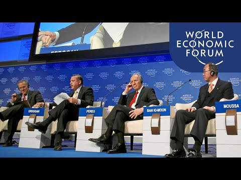 Gaza: The Case for Middle East Peace | Davos Annual Meeting 2009