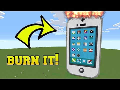 IS THAT AN IPHONE?!? BURN IT!!!