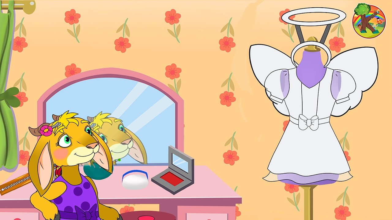 Волк и семеро козлят - Козочка-куколка | Костюмерная вечеринка | KONDOSAN Русский