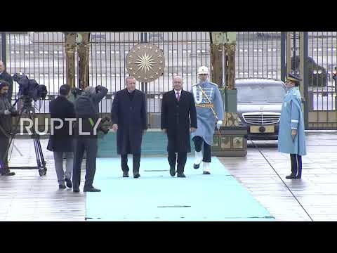 Turkey: Erdogan receives Iraqi President Barham Salih in Ankara