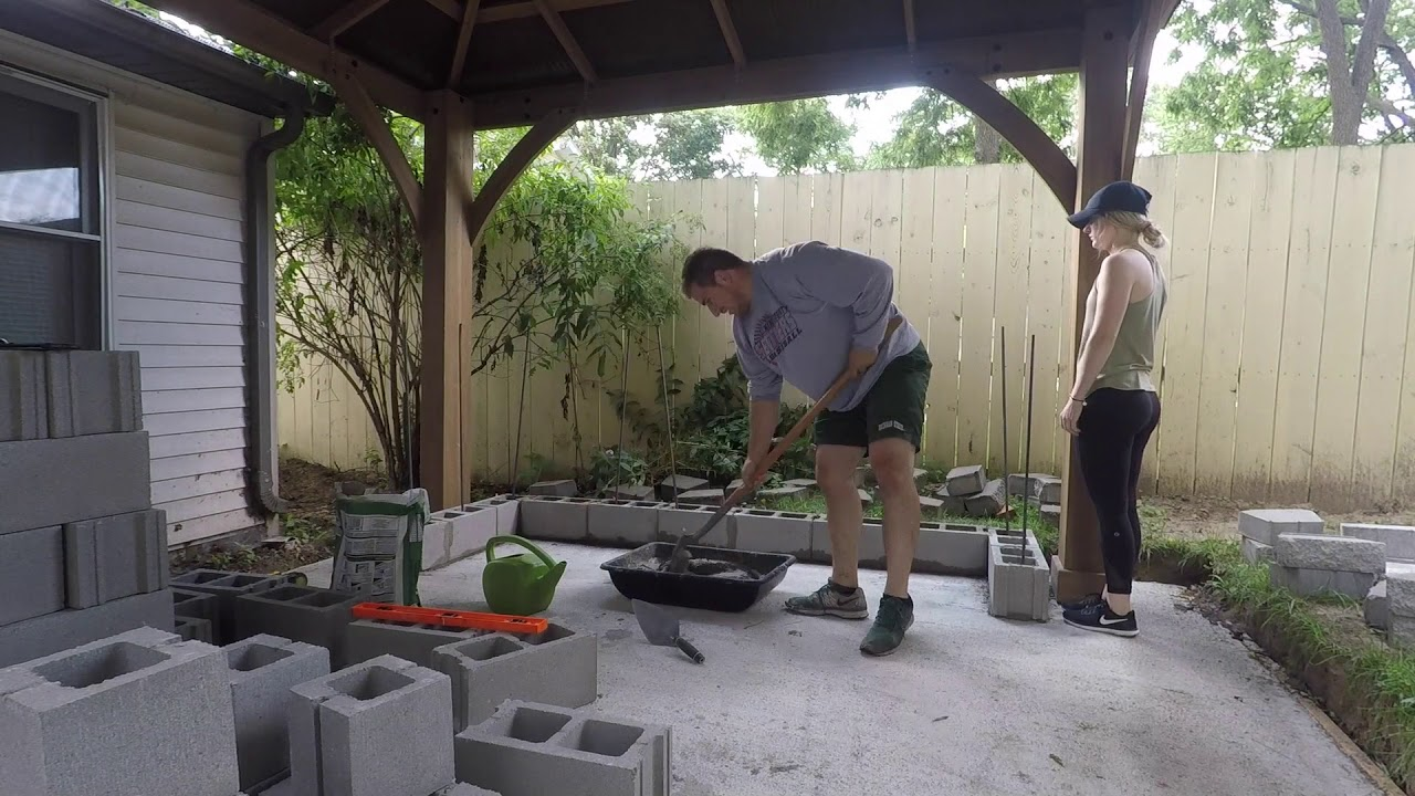 my affordable patio project diy wood fired pizza oven gazebo