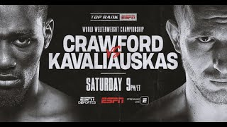 Terence Crawford vs  Egidijus Kavaliauskas 12 14 2019