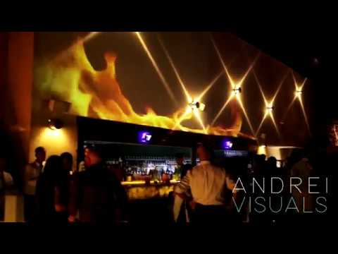 U-Lounge Projection Mapping - Amman, Jordan