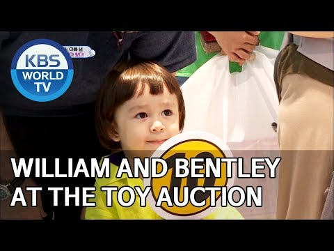 William and Bentley at the toy auction [The Return of Superman/2019.09.08]