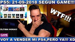 ¡¡¡PS5: 21/09/2018 SEGÚN GAME!!! - Hardmurdog - Noticias - 2018 - Español