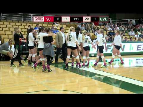 NCAA DI Women's Volleyball: Seattle University at Utah Valle