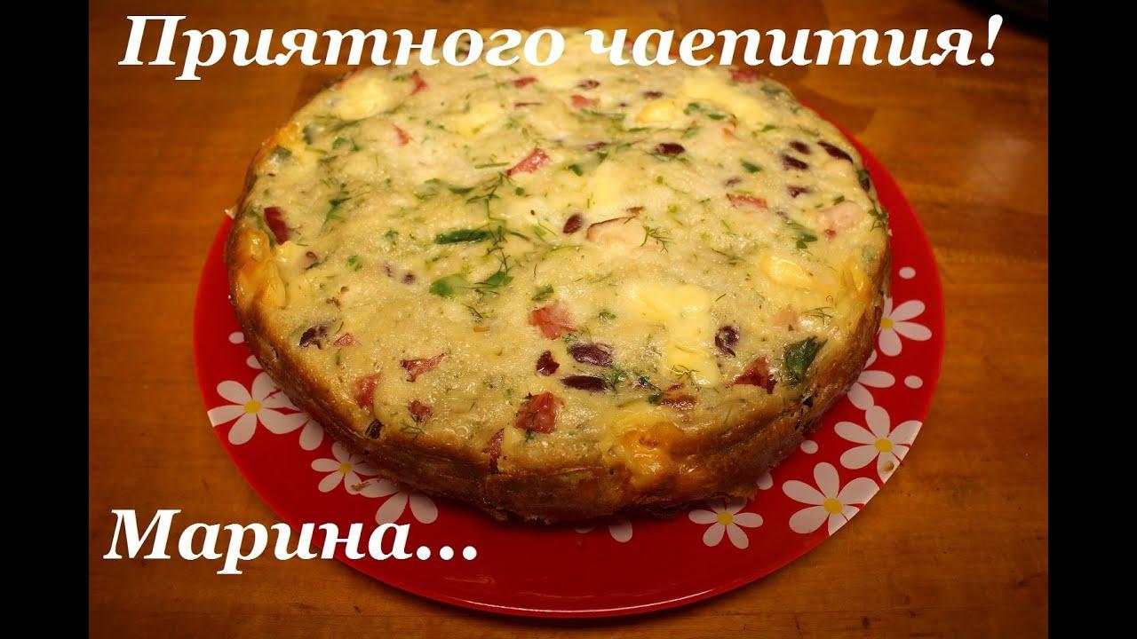 в мультиварке мясной пирог