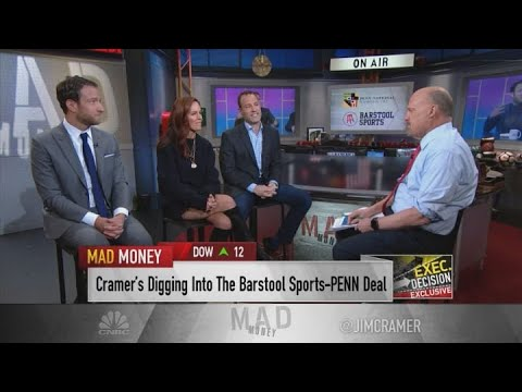 Jim Cramer on Barstool and Penn National's $163 million sports-betting partnership