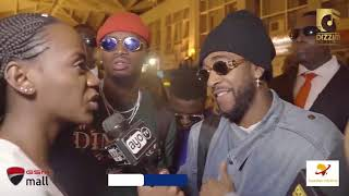 Omarion na Diamond Platnumz wakiwasili Tanzania baada ya Video shoot ya ngoma yao Afrika Kusini