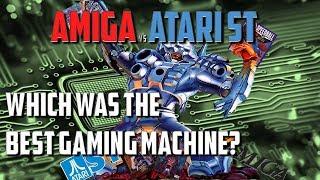 AMIGA vs Atari ST: The GAMES | Which machine was the best? Atari ST|Amiga|Dos|Megadrive