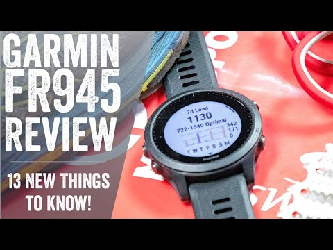 Garmin Forerunner 945 Review: 13 Things To Know // Hands-on Details!