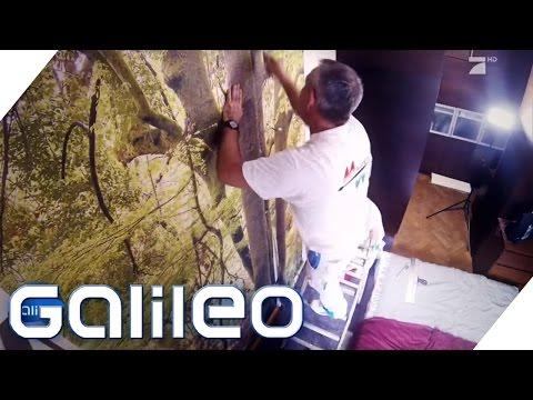 Fototapeten: Der neue Wohntrend im Check | Galileo | ProSieben