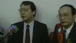 1992年趙少康堅持脫黨參選台北縣立委 和韓國瑜互相打氣
