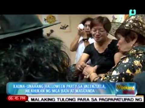 Kauna-unahang halloween party sa Valenzuela, nilahukan ng mga bata at matatanda [11|02|14]