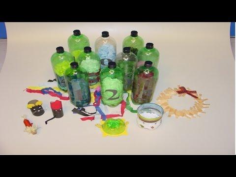 Clique e veja o vídeo Confecção de Brinquedos Pedagógicos com Sucata e Dobradura - Jogo de Argolas