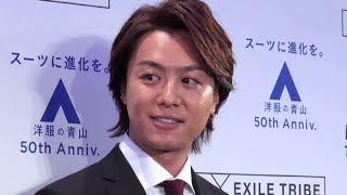 EXILE TAKAHIRO、EXILE SHOKICHI/「AOYAMA PRESTIGE TECHNOLOGY」新CM...