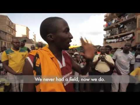 Mathare Slum Soccer - Up With Hope 2014