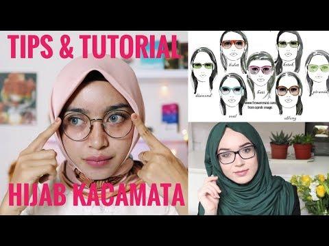 Tips Dan Tutorial Hijab Menggunakan Kacamata