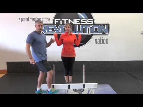 Chanhassen Personal Trainer Demonstrates the FMS Hurdle Step Assessment
