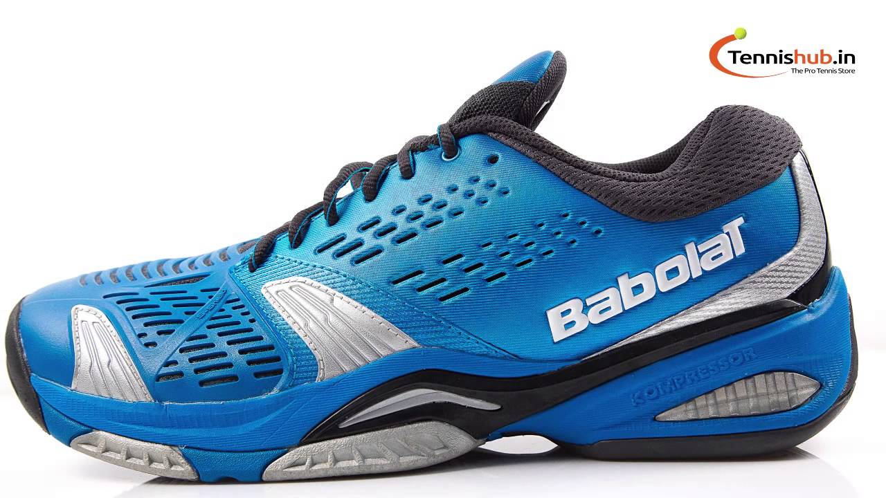 Babolat SFX All Court Blue Mens Tennis Shoes - YouTube