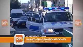Revelen imágenes de tiroteo en Antofagasta