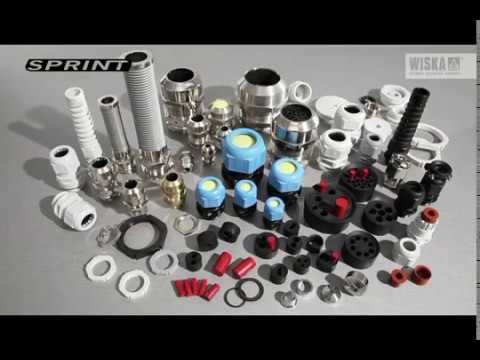 WISKA SPRINT Cable Glands -- english