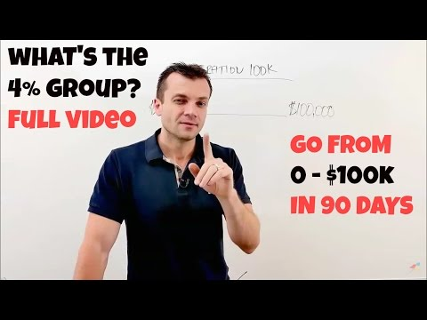 Vick Strizheus - Four Percent Group (From 0 - $100K In 90 Days!) FULL Video
