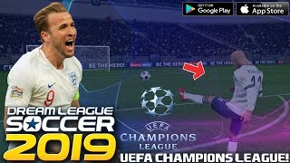 OFICIAL! UEFA CHAMPIONS LEAGUE EN DREAM LEAGUE SOCCER 2019 | INCREÍBLE EVENTO