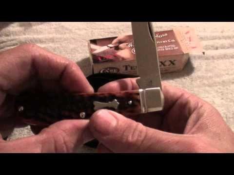 Case / Tony Bose Tribal Spear 2010 Annual knife