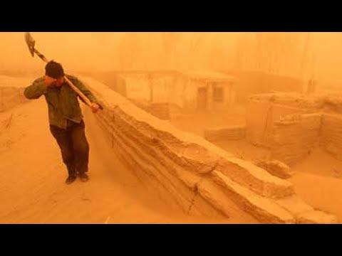 """铺天盖地 """"北京下土了""""!沙尘爆袭中国17省 (图集/4视频)"""