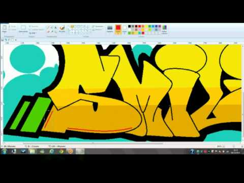 Graffiti en Paint-SMILE=)
