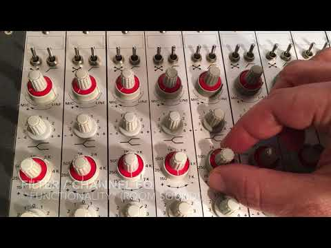 STUDER 169 / 269 Mixer - For Sale! - YouTube