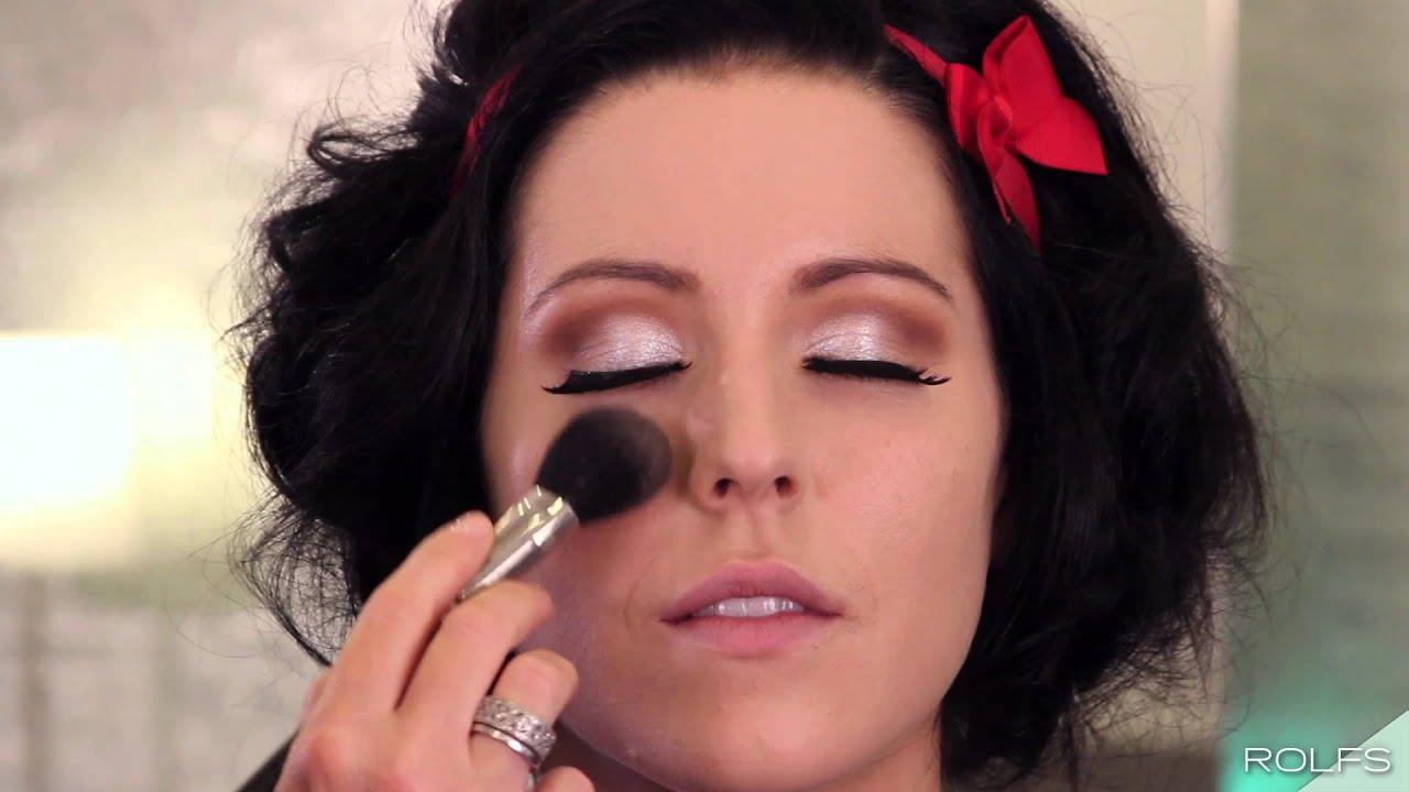 Snow White Makeup Tutorial [Halloween Makeup - Princess Series] by ...