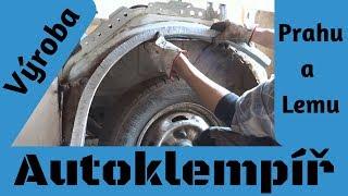Výroba prahů a lemu (Car body repair)