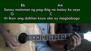 Aking Pagmamahal Republican - Chloe Anjeleigh cover-Guitar Chords.mp3