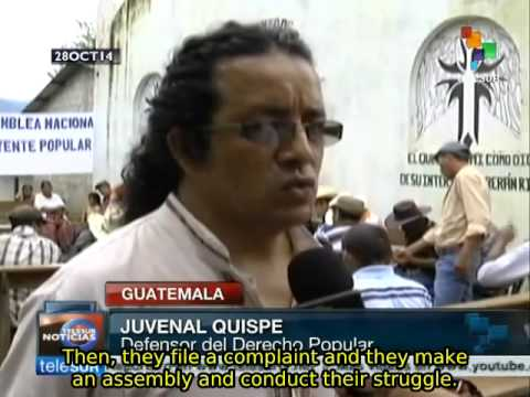 Guatemala: Electricity users create school to resist to energy company