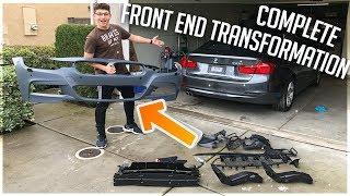 Rebuilding a Salvaged 2014 BMW F30! (Part.5) FRONT M-SPORT CONVERSION!