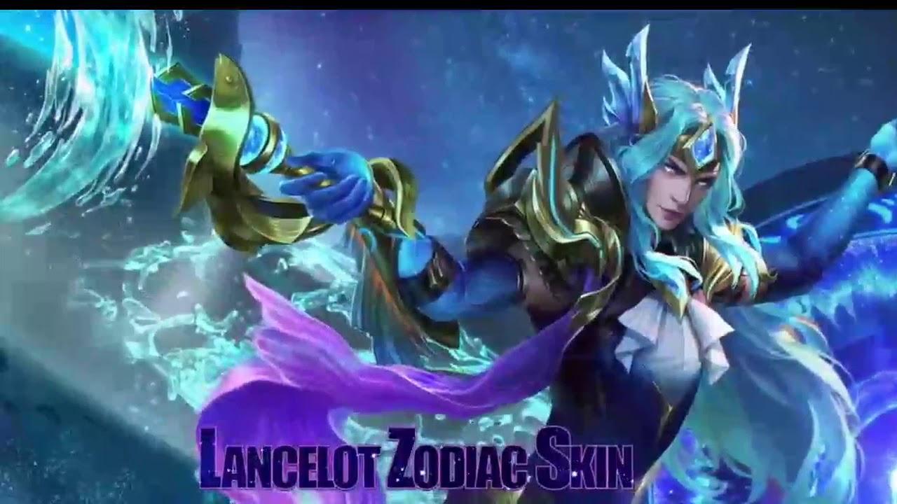 Lancelot Pisces Skin Mobile Legends Moving Wallpaper Mobile Legends Live Wallpaper