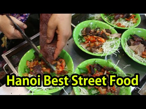 Best Hanoi Vietnamese Street Food Tour in Vietnam 2017