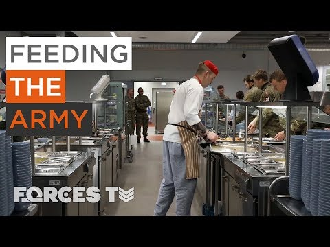 What Does It Take To Feed The British Army In Estonia? | Forces TV